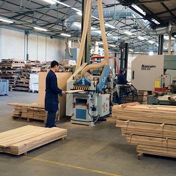 produzione di pavimenti in legno -Lavorazione- Legno Tecnika
