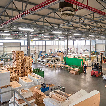 produzione di pavimenti in legno - Legno Tecnika